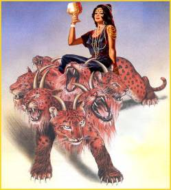 Mystery Babylon-Woman on Beast
