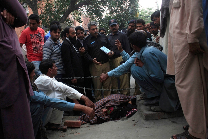 Honor Killing:  Pakistani Woman Stoned to Death For Marrying Man She Loved