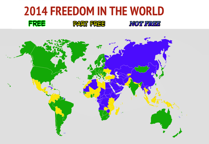 2014 world freedom