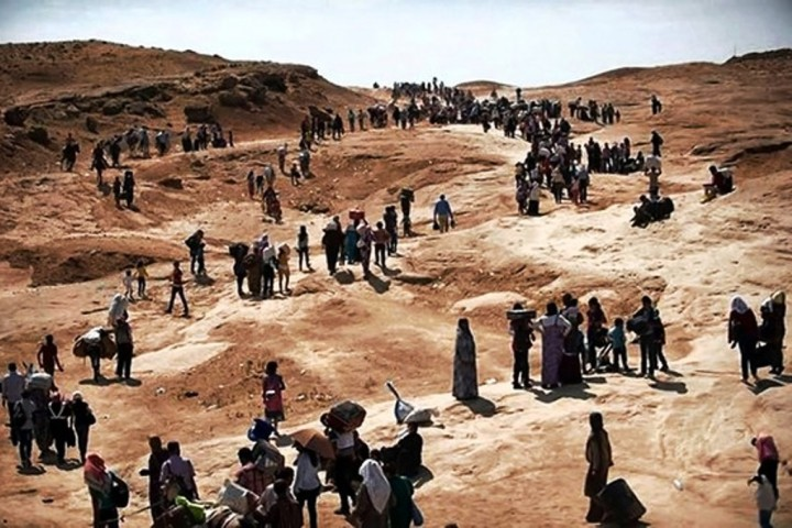 Iraqis Stranded in Mountains