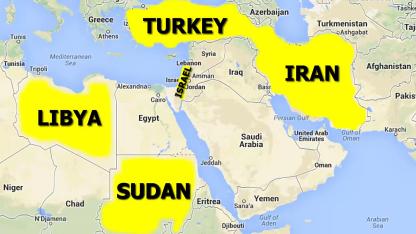 Nations against Israel