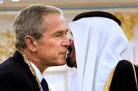 Saudi King and Bush