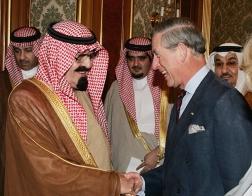 Saudi King and Prince Charles
