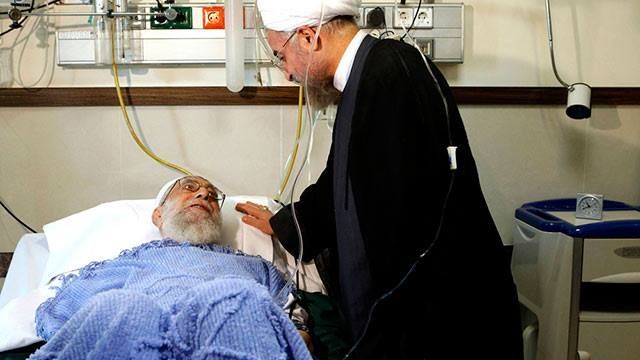 Iran Leader Holspital