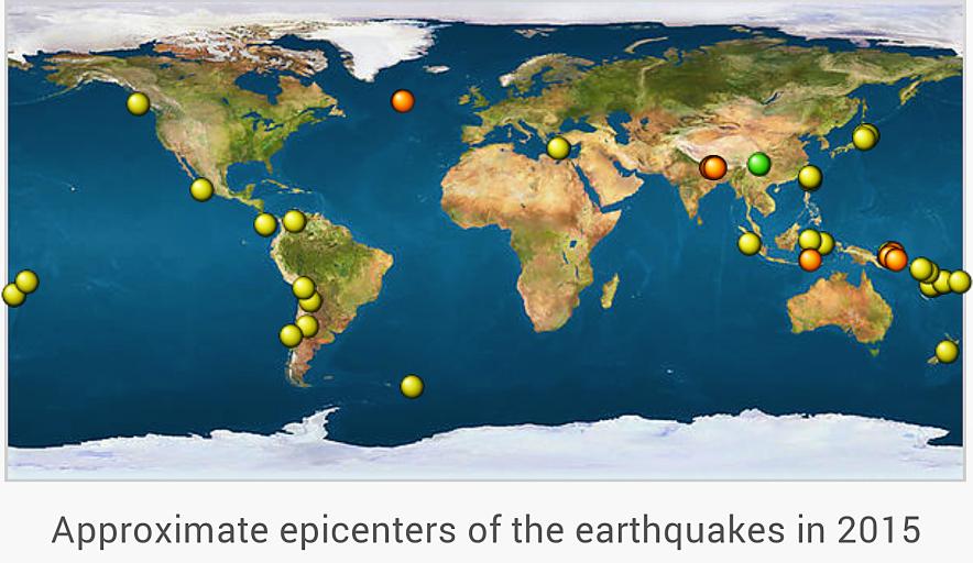 2015 Earthquakes 1