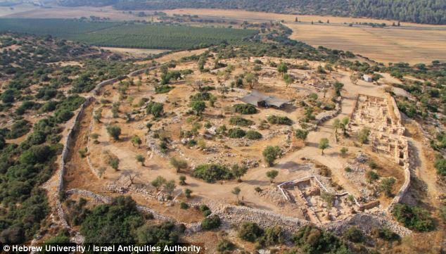 Kind David palace - City of Shaarayim