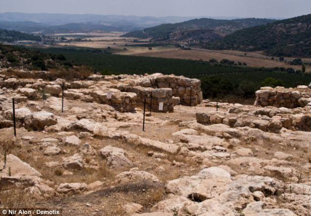 King David palace ruins