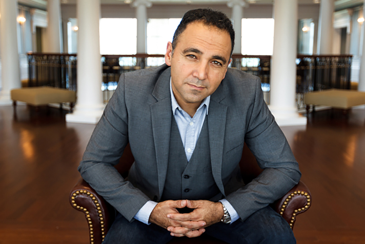 Senior Vice President of Spiritual Development David Nasser is photographed on September 2, 2014. (Photo by Joel Coleman)